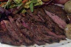 herb marinated flat iron steak garlic herb marinated flat iron steak ...