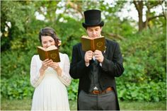 Pride and Prejudice Wedding Inspiration by Shannon Morse Photography..the pictures and idea is SO cute!