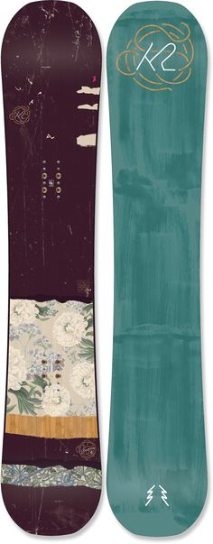 K2 Female Wowpow Snowboard - Women's /2016