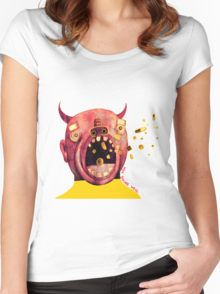 medicine devil Women's Fitted Scoop T-Shirt