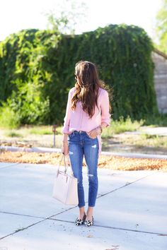 Go-to Day Look… - Pink Peonies by Rach Parcell
