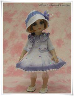 Tonner Patsy Ann Estelle Doll OOAK Ombre Hand Dyed Dress Set by HeavenlyMarie