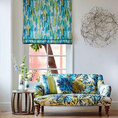 Just look at those fabrics. OMG. Harlequin - Designer Fabrics and Wallpapers | Trattino (HFAU120515) | Fauvisimo