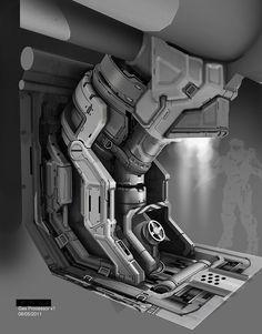 Halo 4 - Gas Processor design, Michael Pedro