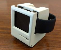 756fd7977558 3D Printed Macintosh Styled Apple Watch Stand  applewatch Apple Tv