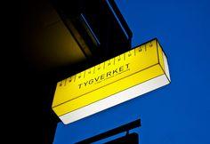 Tailor shop sign, Sweden.