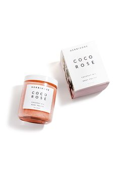 Coco Rose Body Polish is a highly moisturizing and gently exfoliating blend of virgin coconut oil and delicately floral Bulgarian Rose Absolute. Leaves your skin soft and hydrated with a light scent o