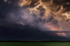 Photographer Eric Meola Impressive cloud structure associated with the intense convection of a severe storm near South Dakota's Black Hills.
