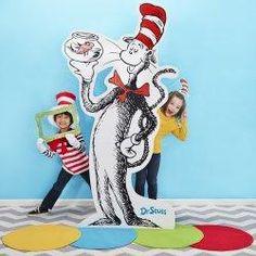 Dr. Seuss Photo Booth Kit: $169.88 #birthdayphotobooth #drseussbirthday #birthdaypartykid