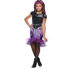 Estiloso y original disfraz de Raven Queen.
