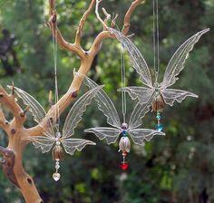 NEW Fairy Suncatcher Large  Birthstones & 24 von windyscreations