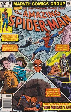 AMAZING SPIDER-MAN #195. Keith Pollard Pencils Cover Art / Marv Wolfman Scripts…