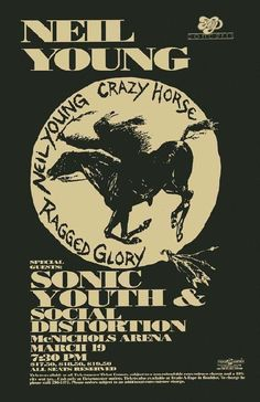 Neil Young concert posters | click to view larger image about posterscene posterscene is boulder s ...