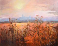 Pejzaż Jurajski - 40x50 oil on canvas