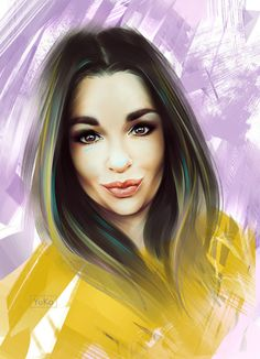 #beachgirl #digitalpainting #fashion #portrait #realism #digitalart #painting