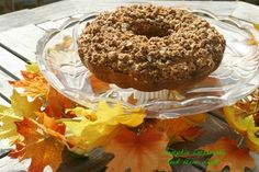 The perfect breakfast - tender pumpkin coffee cake with a whole wheat oat streusel topping
