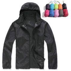 e1b837a7e2 Lovers Sun Protection Skin Summer Jacket Women Men 2017 Spring Fashion  Female Coats Women s Foldable Hooded