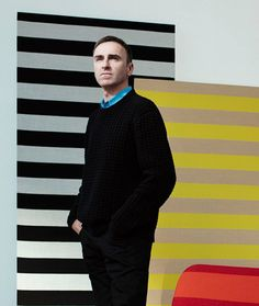 Raf Simons talked to us about his collaboration with Kvadrat
