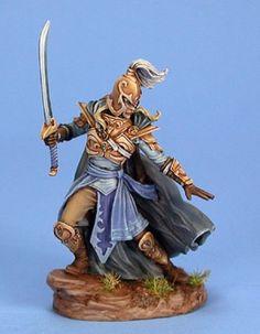 Visions of Fantasy - Male High Elf Warrior | Dark Sword Miniatures