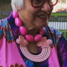 Necklaces #tattydevine  @tattydevine  #pink #suekreitzmanworld by suekreitzman - Pinned by @FancyAsMilly on instagram -