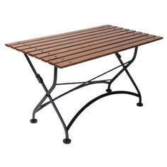 Faltung Bistro Tisch