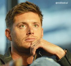 Isn't he just the awesome-st, cutest, most attractive guy you have ever seen?? Dean Winchester <3 I am so madly in love with you.