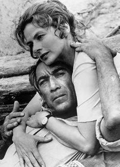 Anthony Quinn et Ingrid Bergman