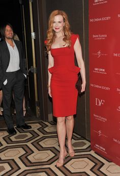 A x paris red dress nicole