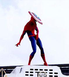 Capitão América: Trailer final da guerra civil - Spider-Man Extensão Cut (a paródia)