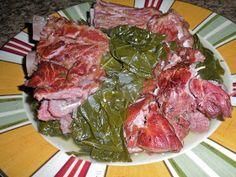 Chef JD's Cuisine & Travel Website Turnstile : Collard Greens and Smoked Neck Bones ... Soul Food!