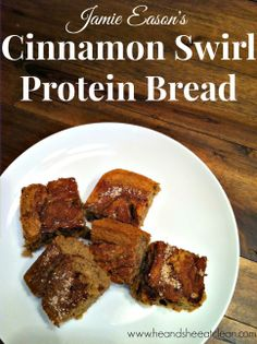 You have to try this protein bread! It is so delicious - you will think its a dessert!