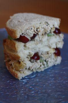 Chicken Salad Sandwich - Waldorf Style