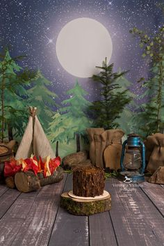 photo backdrop for classroom woodland theme - Bing images - New Ideas Camping Parties, Camping Theme, Boy Birthday, Birthday Parties, Birthday Ideas, Cake Smash Photos, Boy Cake Smash, Cake Smash Backdrop, Paper Backdrop