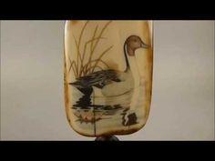 Scrimshaw - Pintail Duck