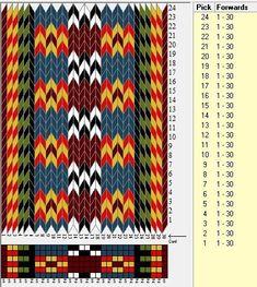 916bd14a3eaa6de0b65a5b2079240a0c--tablet-weaving-weaving-patterns.jpg (418×467)