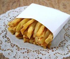 Картошка фри в духовке. Пошаговый рецепт с фото.