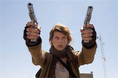 Milla Jovovich movie:biohazard