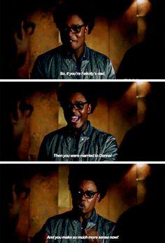 """You make so much more sense now!"" - Curtis Holt #Arrow ((Hahahaha!!))"