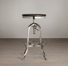 """Vintage Toledo Barstool Polished Chrome - Love this for the kitchen bar area - 24"""" counter stools needed."""