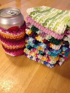 Crocheted Can or Bottle Cozies