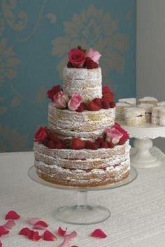 rose victoria sponge, david and charles cakes for romantic occassions, wedding cakes (click to enlarge)