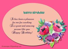 birthday wishes for boss birthday messages images and quotes for