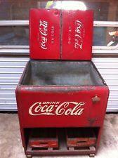 Vintage 1939 Coca Cola Coke Cooler