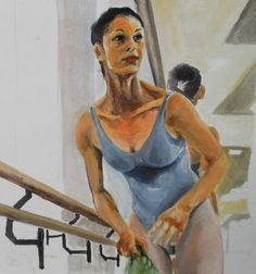 "Girls training at ""La Scala"" Ballet School Art Print Girl Train, School Painting, Ballet School, Original Paintings, Training, Girls, Art, Art Background, Daughters"