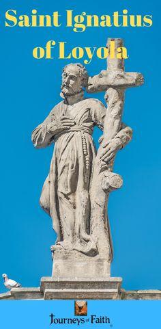 Saint Ignatius of LoyolaSoldier, Poet, Mystic, Author, Defender of the Faithand Founder of the Society of Jesus Catholic Books, Catholic Saints, Roman Catholic, St Ignatius Of Loyola, Society Of Jesus, Defender Of The Faith, Lives Of The Saints, Eucharist, Christopher Columbus