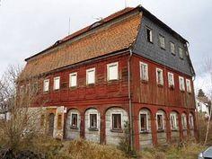 Denkmalgeschütztes Umgebindehaus mit Brunnen in ruhiger Lage, Eibau umgebinderhaus  House with ground floor externally braced by timber arcades