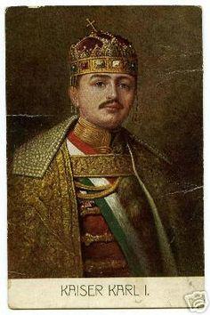 Karl I at his coronation, 1917