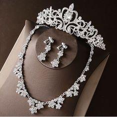 Silver Bridal Jewellery, Vintage Wedding Jewelry, Prom Jewelry, Wedding Jewelry Sets, Bridesmaid Jewelry, Bridal Necklace Set, Headpiece Jewelry, Minimal Jewelry, Piercings