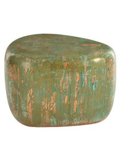 Wedge Side Table from Fun Outdoor Furniture Feat. Polart on Gilt