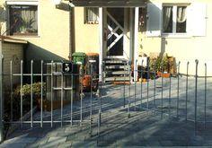 doppelflügeliges Tor zum Gartenzaun anneau